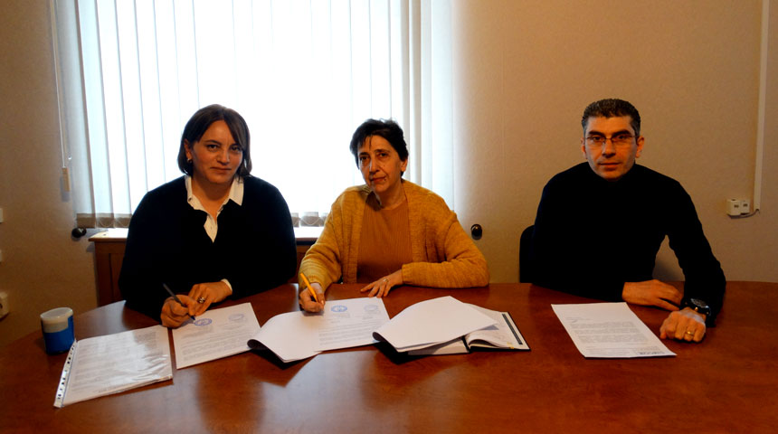 "The Grant Agreement for the ""Capacity Development of Agricultural Cooperatives in Tavush Marz"" Project was signed between ""UMCOR ARMENIA"" Foundation and CCD NGO"